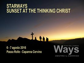 STARWAYS SUNSET AT THE THINKING CHRIST – 6 – 7 AGOSTO 2016